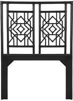 David Francis Furniture Tulum Headboard - Black Queen