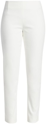 Lela Rose Catherine Stretch-Twill Pants