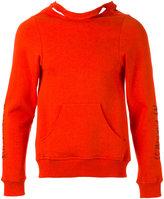 Dust split-open back sweatshirt