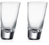 Rogaska 90 Degrees Highball Glass, Set of 2