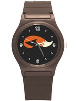 "Kidozooo Boys Girls Red Fox Silhouette 1 3/8"" Diameter Plastic Watch"
