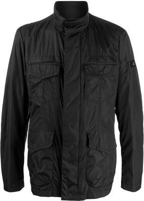 Peuterey High-Neck Flap Pocket Jacket