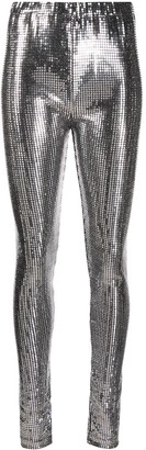 MM6 MAISON MARGIELA Silver Square Leggings