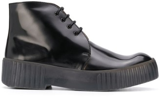 Acne Studios Lace-Up Chukka Boots