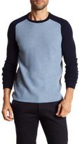 Autumn Cashmere Colorblock Raglan Sleeve Cashmere Sweater