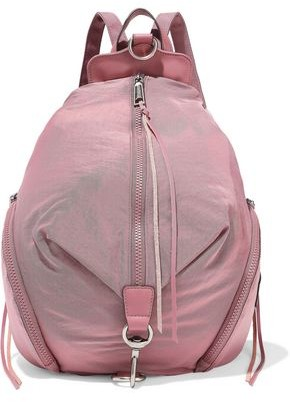 Rebecca Minkoff Convertible Leather-trimmed Shell Backpack
