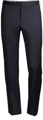 Canali Slim-Fit Wool Trousers