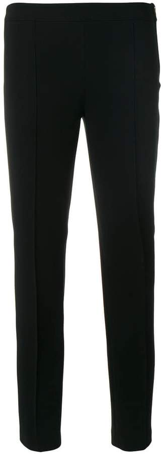 Moschino rib detail cropped trousers