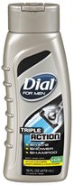 Dial For Men Body Wash - Triple Action - 16 oz