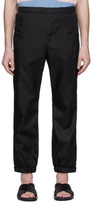 Prada Black Gabardine Trousers