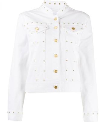 Escada Sport fitted stud-embellished jacket