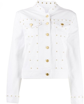 Escada Sport Fitted Stud-Embellished Jacket