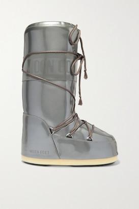 Moon Boot Glance Metallic Rubber Snow Boots