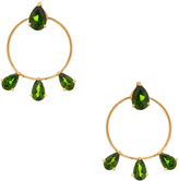 Ileana Makri Diamond Tears Stud Hoops