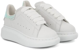 ALEXANDER MCQUEEN KIDS Chunky Sole Lace-Up Sneakers