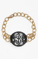 Moon and Lola Women's 'Annabel' Medium Oval Personalized Monogram Bracelet (Nordstrom Exclusive)