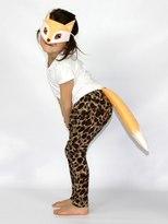 Handmade Fox Mask & Tail Costume Set
