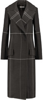 Jil Sander Printed wool coat