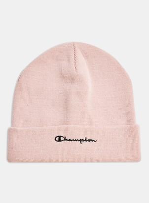 Topman CHAMPION Pink Beanie
