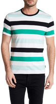 HUGO BOSS Tiburt Short Sleeve Stripe Regular Fit Tee