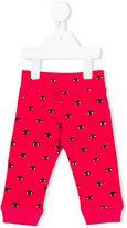 Kenzo eye print trousers - kids - Cotton - 9 mth