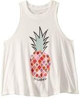Billabong Kids I Love Pineapples T-Shirt (Little Kids/Big Kids) (Cool Wip) Girl's T Shirt