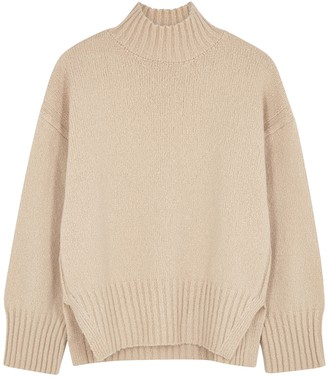 Frame Cream wool-blend jumper