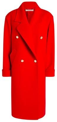 Alessandra Rich Wool-Cashmere Coat