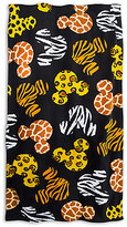 Disney Mickey Mouse Animal Print Beach Towel
