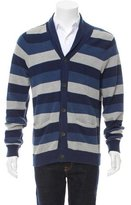 Rag & Bone Striped Shawl Collar Cardigan