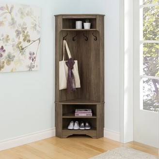 Andover MillsTM Mount Holly Hall Tree with Shoe Storage Andover Mills Color: Drifted Gray