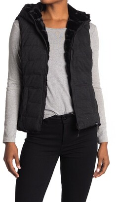 Be Boundless Reversible Faux Fur Hooded Vest