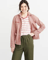 Abercrombie & Fitch Boxy Shirt Jacket