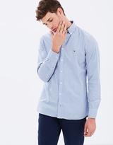Tommy Hilfiger Stripe Pinpoint Oxford Shirt