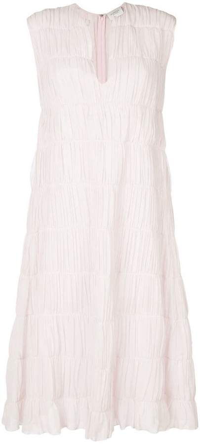 Giambattista Valli ruched tiered dress