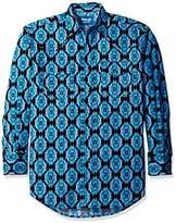 Wrangler Men's Checotah Dress Western Long Sleeve Shirt