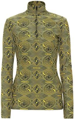 Kwaidan Editions Vertigo printed jersey top