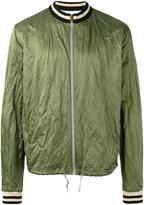 Vivienne Westwood rear logo bomber jacket - men - Cotton/Polyamide/metal - L