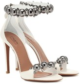 Alaia Embellished leather sandals