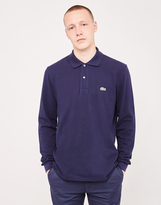 Lacoste Long Sleeve Polo Shirt Navy