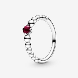 Pandora January Birthstone Beaded Ring