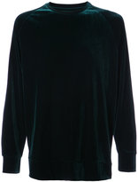 Ovadia & Sons velvet crew neck sweatshirt