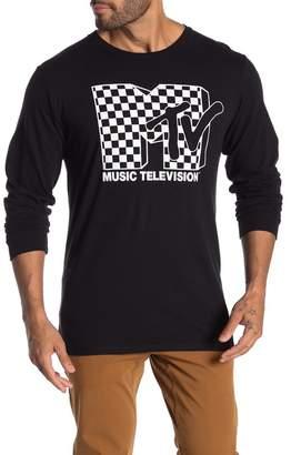 Fifth Sun Iconic Checkered Logo Long Sleeve T-Shirt