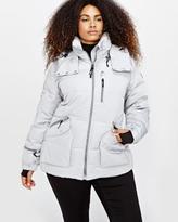 Addition Elle Livik Hooded Cropped Puffer Jacket