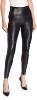 Spanx Ready-to-Wow Faux-Leather Leggings
