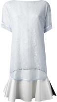 Givenchy floral lace t-shirt dress