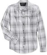 Calvin Klein Jeans Men's Plaid Long-Sleeve Shirt