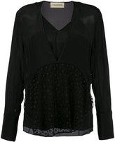 By Malene Birger 'Divoska' blouse - women - Silk/Polyester - 38