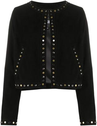 Just Cavalli Studded Fitted Jacket