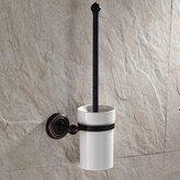 YU&XIN-bathroom accessories Solid brass antique European-style toilet brush holder bathroom accessories set-YU&XIN